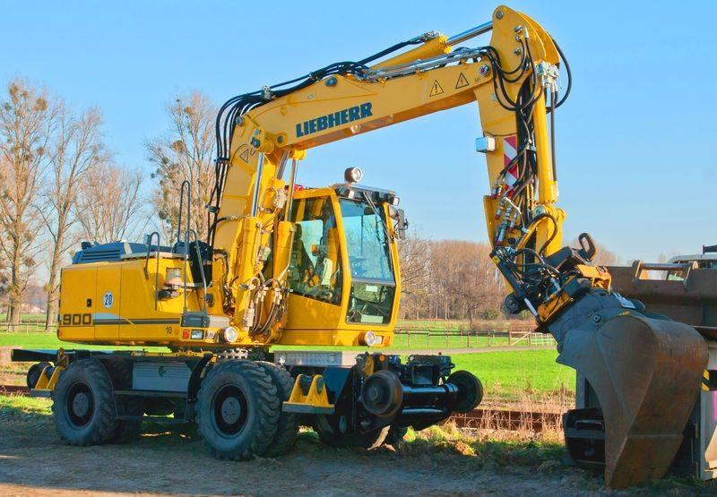 Maszyny budowlane marki Liebherr