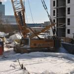 Maszyny Liebherr w pracy na budowie