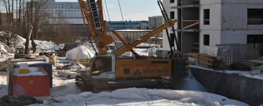 Eksploatacja maszyn budowlanych Liebherr zimą